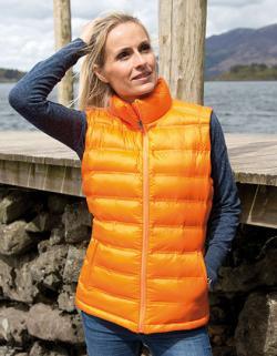 Damen Ice Bird Padded Gilet / Weste tailliert