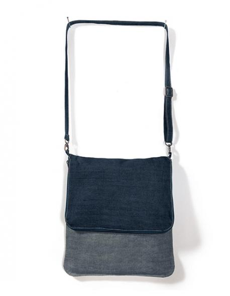 Messenger Bag Denim Damen Schultertasche
