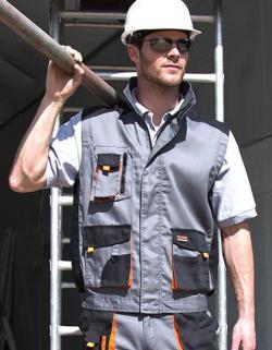 Herren Work-Guard Lite Weste / Multifunktionstaschen