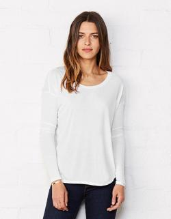 Damen Flowy Long Sleeve T-Shirt