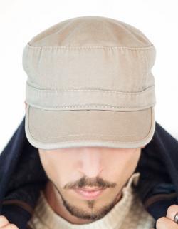 Urban Cap / Militär-Stil / Verschluss mit Schnalle
