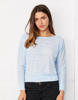 Damen Flowy Off The Shoulder T-Shirt