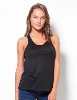 Damen Beauty Shirt / Dekoratives Rückenteil in Spitzenoptik