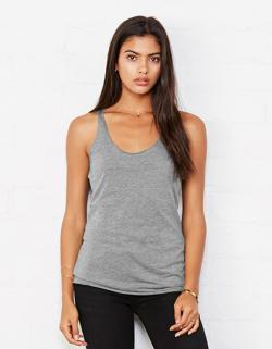 Damen Triblend Racerback Tank Top
