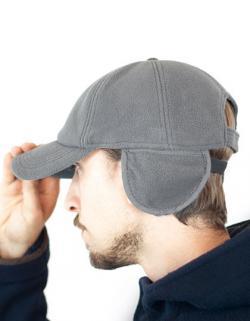 HerrenSnow Flap 6-Panel-Cap / Ohrschützer