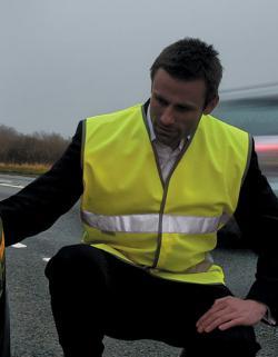 Herren Motorist Safety Vest EN471 /  nach ISOEN20471:2013