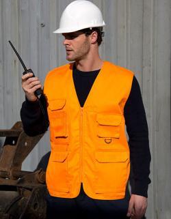 Herren Arbeitsweste Safari Vest
