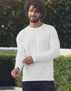 Herren Long Sleeve T-Shirt / 100% Fairtrade-Baumwolle