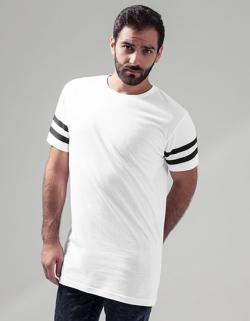 Herren Stripe Jersey Tee / Single-Jersey