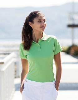 Damen Coolplus Wicking Polo Shirt / Mikro-Piqué
