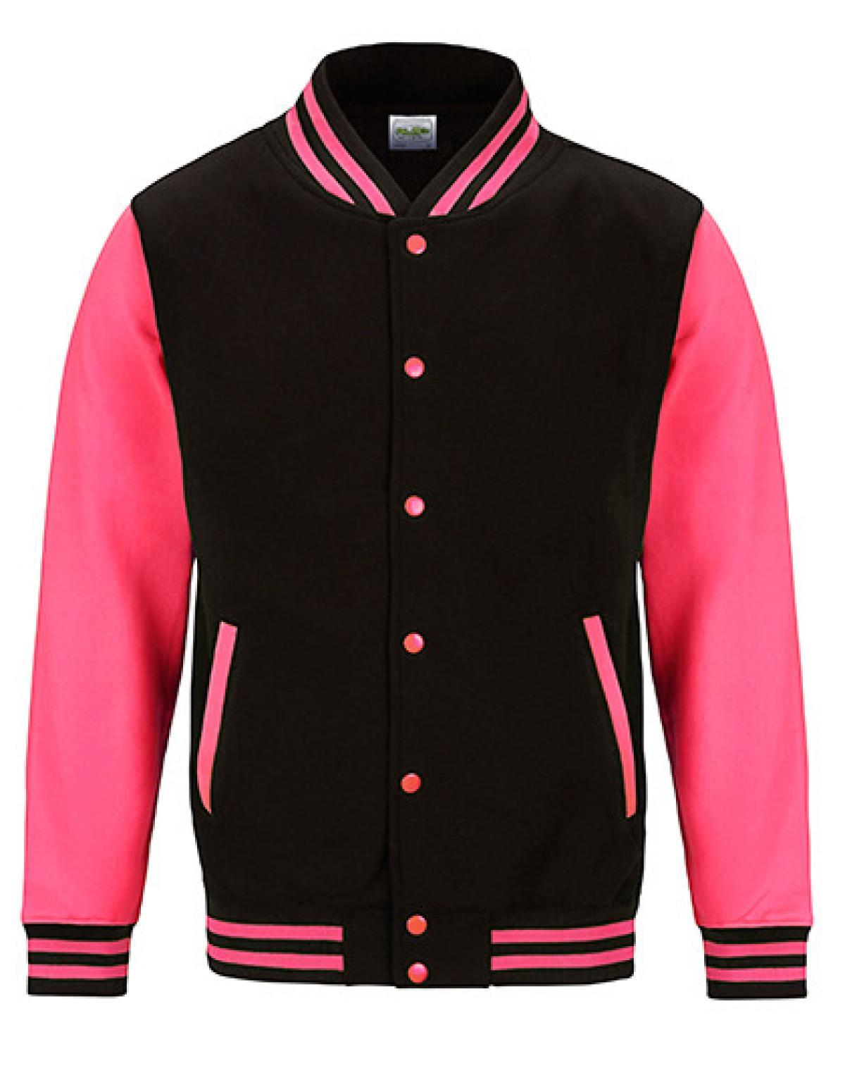 electric varsity jacket damen college jacke wrap rexlander s. Black Bedroom Furniture Sets. Home Design Ideas