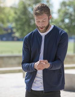 Herren Jacket with Zip / 100% GOTS und Fairtrade