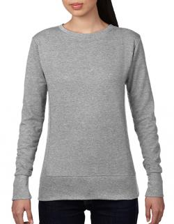 Damen French Terry Sweatshirt / Taillierter Schnitt