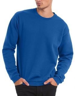 Herren  Rundhals-Sweatshirt / Flauschiges Innenfutter