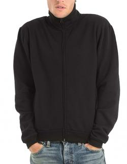 Herren Sweat-Jacket / Flauschiges Innenfutter