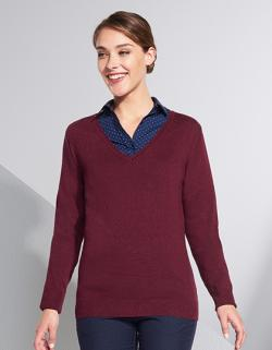 Damen Glory  Sweater / 1x1 Elasthan