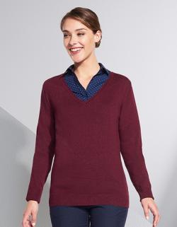 Damen Glory  Sweater / 1x1 Elasthan