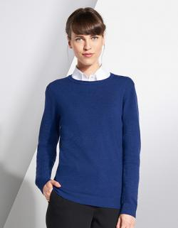 Damen Ginger Sweater / 1x1 Elasthan