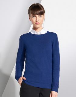 Damen Ginger Sweater / 1x1 Elasthan