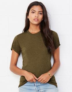 Triblend Crew Neck T-Shirt / Meliert