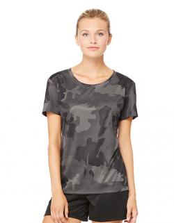 Damen Performance Short Sleeve Tee / Antimikrobiell