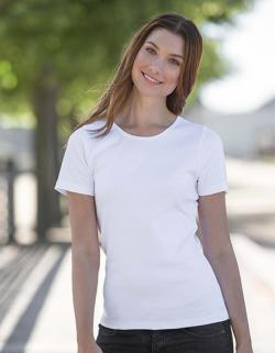 Damen Interlock T-Shirt / 100% Fairtrade Baumwolle