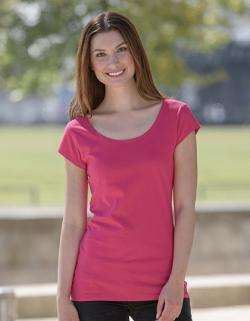 Damen Roundneck T-Shirt / 100% Fairtrade-Baumwolle