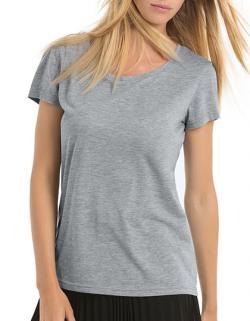 DamenTriblend T-Shirt /Sehr langlebig, flexibel, faltenfrei