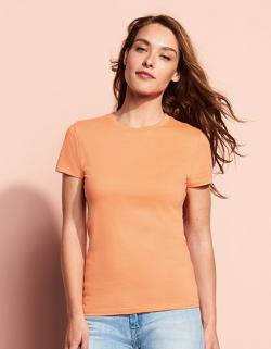 Damen Regent T-Shirt / Halbgekämmte ringgesponnene Baumwolle