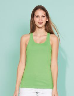 Damen Justin  Tee-Shirt / Halbgekämmte Baumwolle