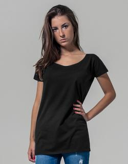 Damen Wideneck Tee / Single-Jersey