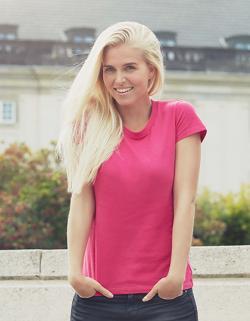 damen Fitted T-Shirt / 100% Fairtrade-Baumwolle