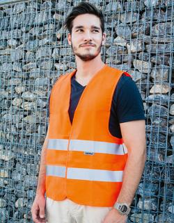 Herren Warnweste Professional  / EN ISO20471