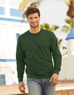 Herren New Lightweight Set-In Sweat / Belcoro® Garn