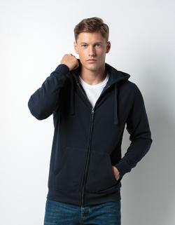 Herren Klassic Hooded Zip Jacket Superwash 60° Long Sleeve