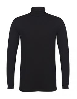 Herren Feel Good Roll Neck Top / Longline-Passform
