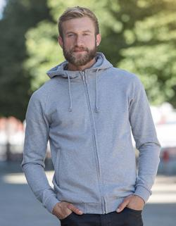 Herren Hoodie with Hidden Zip / 100% Fairtrade Baumwolle