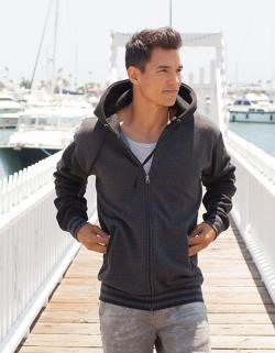 Herren Heavyweight Varsity Zip Hood