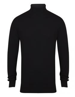 Herren Roll Neck Jumper