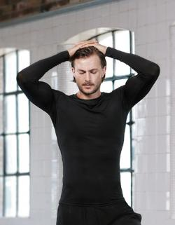 Herren Warmtex Base Layer Long Sleeve / Waschbar bis 30 °C