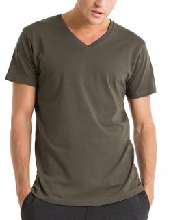 Herren V-Neck T-Shirt  / 100% Organic Cotton
