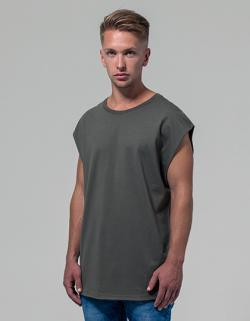 Herren Sleeveless Tee / Single-Jersey