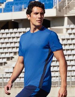 Herren Classico Contrast Shirt / Atmungsaktiver Polyester