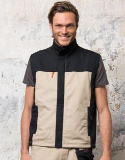 Herren Workwear Bodywarmer - Mission Pro