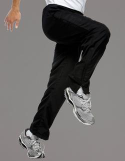 Herren Plain Training Pant / Mikro-Touch Polyester