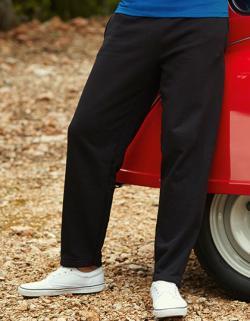 Herren Classic Open Leg Jog Pants / Belcoro® Garn