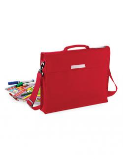 Academy Book Bag With Shoulder Strap / 36 x 30 x 6 cm