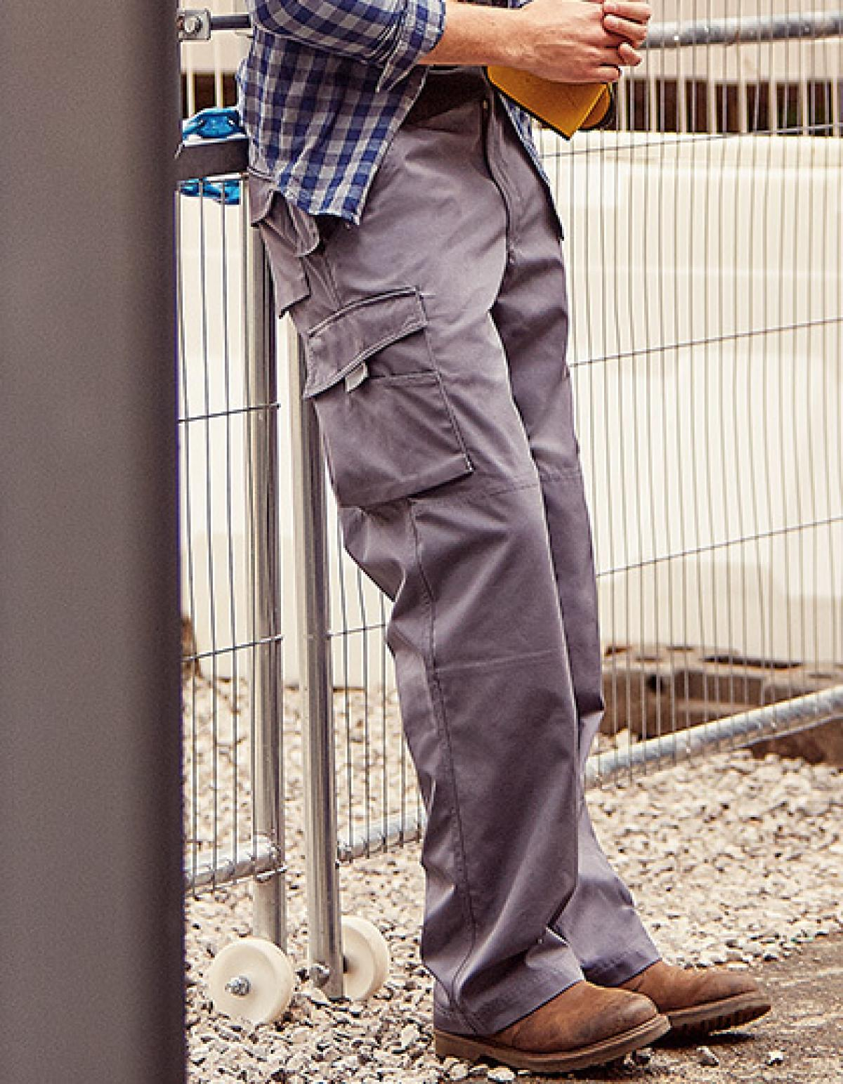 Strapazierfähige Workwear Arbeitshose Trocknergeeignet