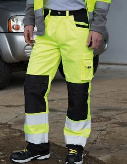 Herren Safety Cargo Trouser / EN20471:2013 Klasse 2