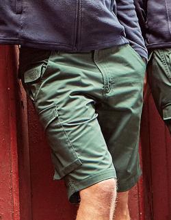 Workwear-Shorts aus Polyester-/Baumwoll-Twill